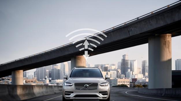 Tehnologija 5G - Ključ do večje varnosti in avtonomne vožnje? (foto: Volvo)