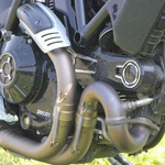 Ducati Scrambler Icon - tako mlad, pa že ikona (foto: Primož Jurman)