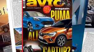 Izšel je novi Avto magazin: karting, e-dirkanje; Testi: Renault Captur, Ford Puma, BMW 530e ...