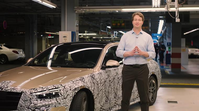 Najprestižnejši prihajajoči Mercedes-Benz pobegnil na splet (foto: Youtube: Mercedes-Benz)