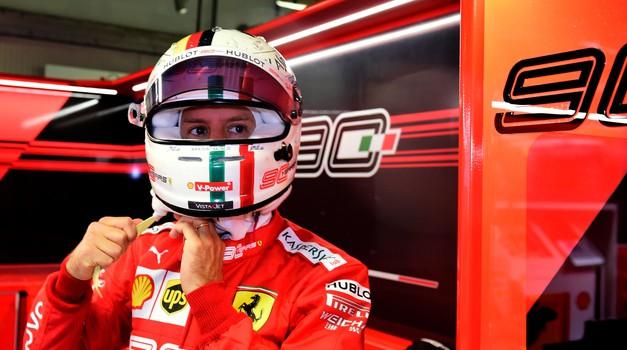 Sainz k Ferrariju, Ricciardo k McLarnu. Kaj pa Vettel? (foto: Ferrari)