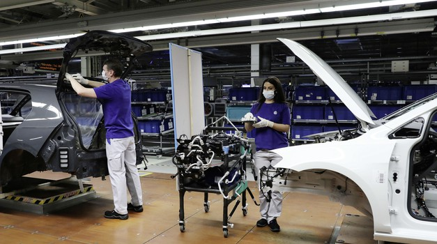 Volkswagen zmanjšuje proizvodnjo Golfa 8! (foto: Volkswagen)