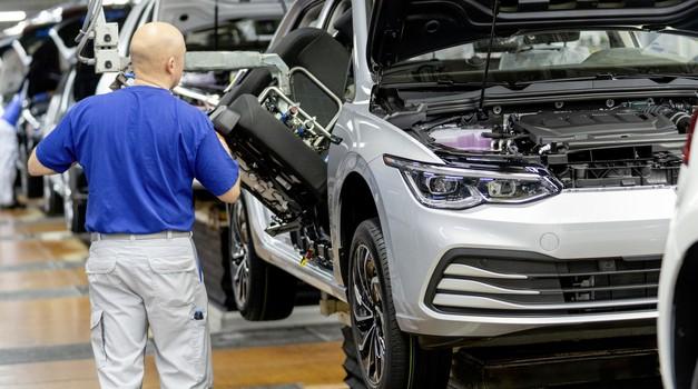 Volkswagen zaustavil dobavo Golfa in Škode Octavie (foto: Volkswagen)