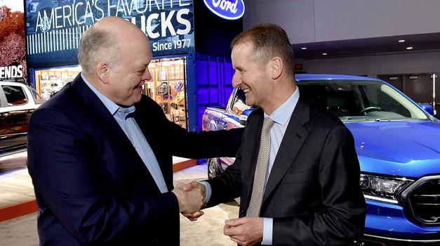 Volkswagen potrdil povezovanje s Fordom - to so načrti za prihodnost (foto: Volkswagen)