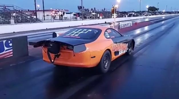 Toyota Supra je novi hitrostni rekorder (video) (foto: Youtube:  Grannas Racing)