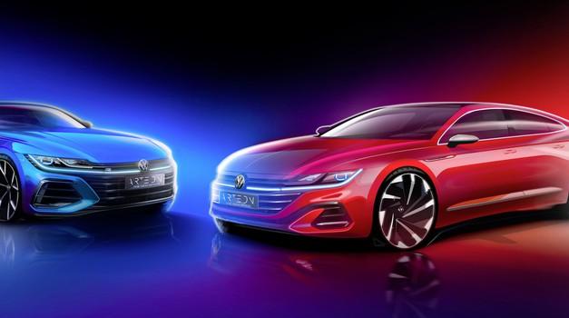 Volkswagen v Arteonovo ponudbo uvaja pomembno novost (foto: Volkswagen)