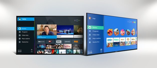 EON sedaj popolnoma personalizira vaše najljubše televizijske vsebine (foto: promocijski material)