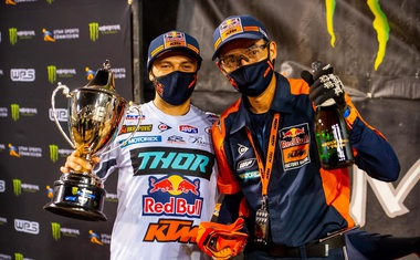 Monster Energy Supercross: tokrat udaril Webb (video)