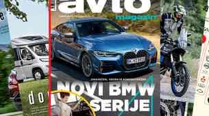Izšel je novi Avto magazin - od kočije z motorjem do sodobnega avtomobila, lastništvo avtomobilskih znamk... Test: nissan Juke, Ford Tourneo Custom...