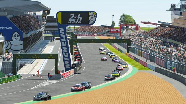 Slovenci iz virtualnega Le Mansa z mešanimi občutki (foto: Porsche)