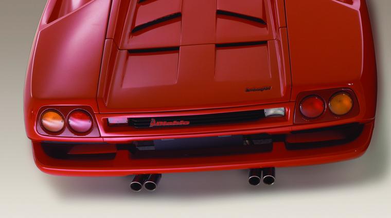 Ekipa Top Gearja med snemanjem razbila Lamborghini Diabla (foto: Lamborghini)