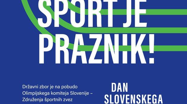 Slovenija dobila nov državni praznik – Dan slovenskega športa! (foto: OKS)