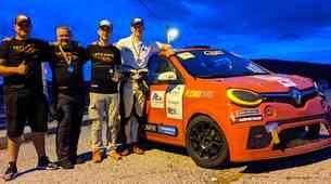 Twingo Endurance - Naslov prvaka znova v Slovenijo