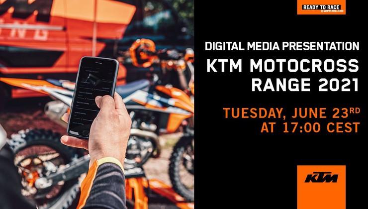 Spremljaj z nami predstavitev KTM-ove družine SX za leto 2021