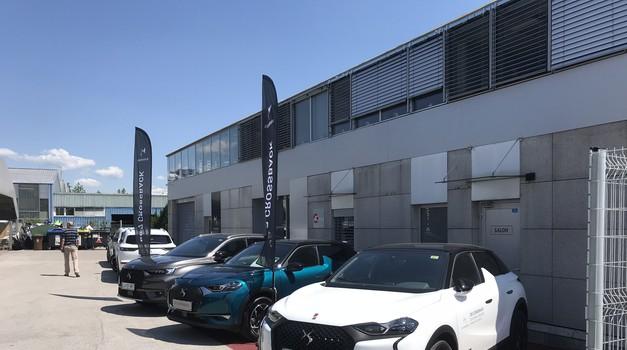 DS kot dodatek Hondi in Mitsubishiju - odprt je nov prodajni salon (foto: Tomaž Porekar)
