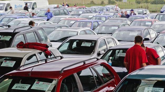 Nemški avtomobilski trg v najslabši kondiciji v zadnjih treh desetletjih (foto: Profimedia)