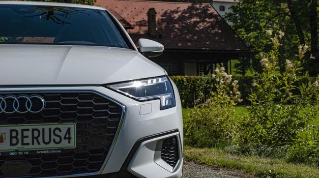 Novi Audi, ki je narejen po meri voznikov (novo v Sloveniji) (foto: Jure Šujica)