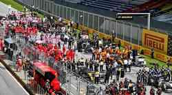 Formula 1, VN Štajerske: Mercedesu dvojna zmaga, Ferrari pogorel