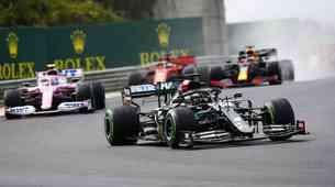 Formula 1, VN Madžarske - Ko Hamilton ne pozna usmiljenja