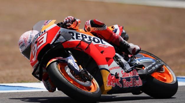 Dr. Michele Zasa: Marquez bo odsoten vsaj eno dirko (foto: Honda)