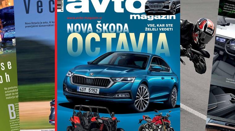 Izšel je novi Avto magazin: Testi: Škoda Octavia, Hyundai i10, BMW X4M... (foto: Ahiv AM)