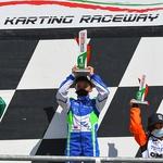 Karting - nov zgodovinski uspeh Marka Kastelica! (foto: Osebni arhiv)