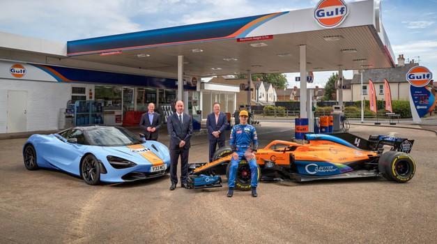 McLarnovi dirkalniki prihodnosti v novih, a legendarnih barvah (foto: McLaren)