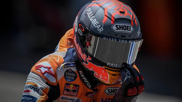 Marc Marquez bo izpustil tudi veliko nagrado Avstrije (foto: Profimedia)
