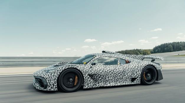 Mercedesov superšportnik je že skoraj tu - pogonski sklop pripravljen na proizvodnjo (foto: Daimler)