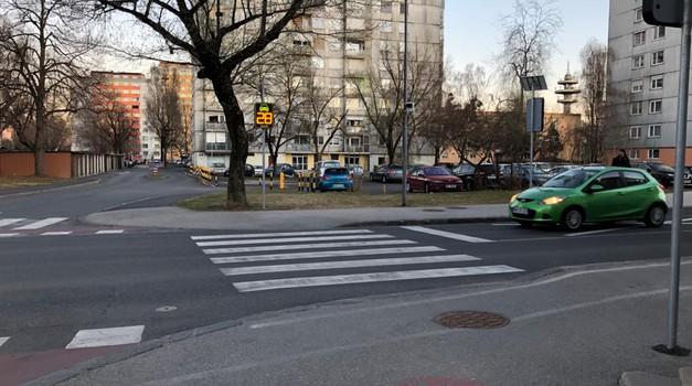Vsak deseti umrli na cesti je pešec - s to napravo bi delež lahko zmanjšali (foto: Zavarovalnica Triglav)