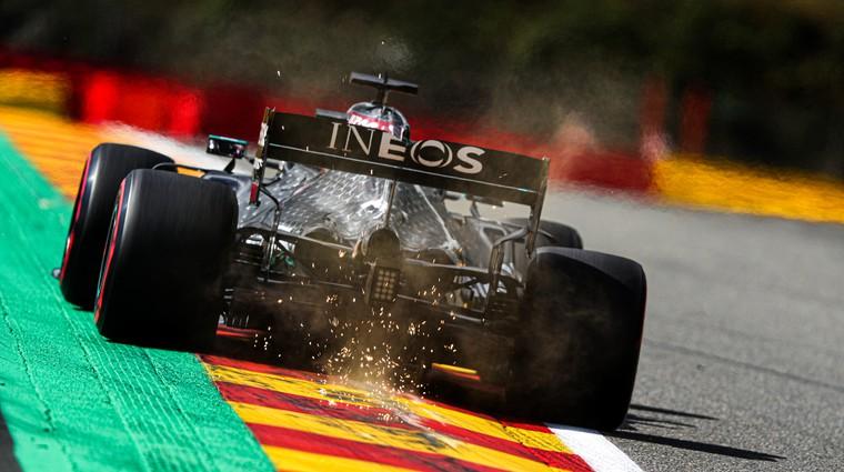 Formula 1 - Hamilton skoraj poravnal račune z Belgijo (foto: Daimler)