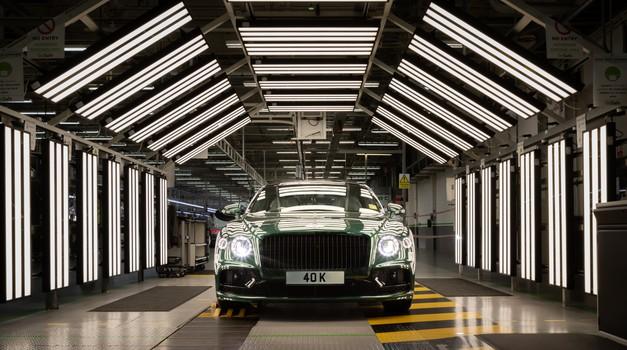 Bentley izdelal 40.000. Flying Spur - kam jih prodajo največ? (foto: Bentley)