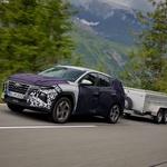 Hyundai Tucson nared za predstavitev - tu pa so prve (zakamuflirane) fotografije (foto: Hyundai)