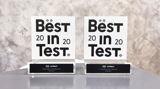 Že veste? Certifikat za najboljše mobilno in fiksno omrežje je že drugič prejel Telemach (foto: PROMO)