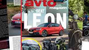 Izšel je novi Avto magazin: Test: Ford Kuga, Seat Leon, DS7 Crossback...