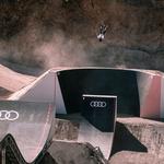 Audi Nine ob odsotnosti gledalcev postregel za največji spektakel doslej (foto: Audi)