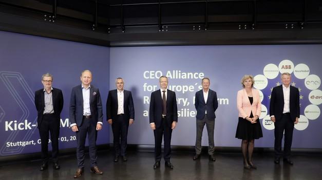 Zgodovinsko srečanje - 12 največjih v boju proti klimatskim spremembam (foto: Volkswagen)