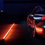 Audi E-tron GT pripravljen na to, da odvrže kamuflažo (foto: Audi)