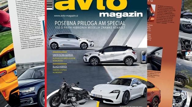 Izšel je novi Avto magazin - Porsche Taycan, Ford Focus ST, Mazda CX-30 (foto: Arhiv AM)
