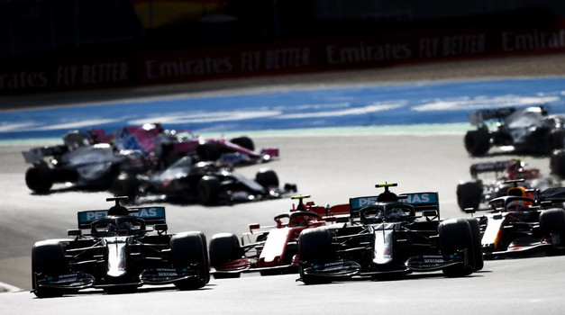 Formula 1, VN Eifla: Hamilton se je izenačil s Schumacherjem (foto: Daimler)
