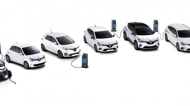 Celotna ponudba električnega in elektrificiranega pogona pri znamki Renault. (foto: Renault)