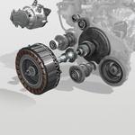 Štiristopenjski menjalnik s pogonskim elektromotorjem je srce sistema. (foto: Renault)