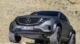 Z Mercedesom na ekstremne terene sedaj tudi z elektriko