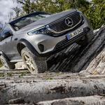 Z Mercedesom na ekstremne terene sedaj tudi z elektriko (foto: Daimler)