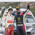 Oče in sin – Petter na svojem zadnjem, Oliver na svojem prvem reliju WRC. (foto: Red Bull)