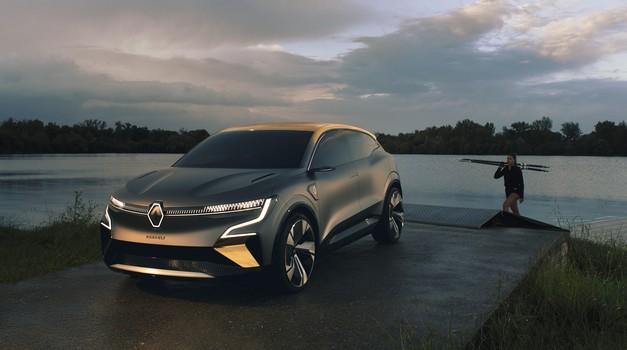 Svetovna premiera: Renault Megane  eVision - sedaj gre pa zares (foto: Renault)