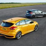 Focus ST- 250 bencinskih oziroma 185 dizelskih 'konjev' predstavlja vrhunec civilne in še vedno precej družinske ponudbe. (foto: Ford)