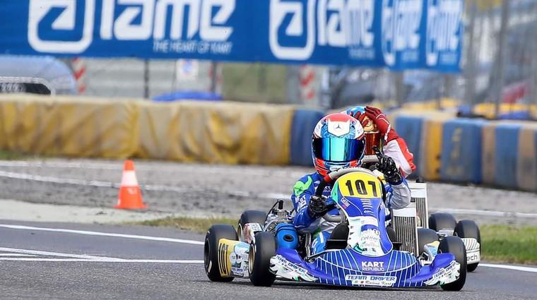 Karting: Slovenca dominirala na italijanskem dirkališču (foto: Team Driver)