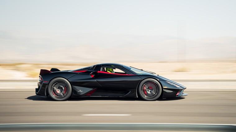Bugatti in Koenigsegg sta poražen, to je novi hitrostni rekorder med serijskimi avtomobili (video) (foto: SSC)