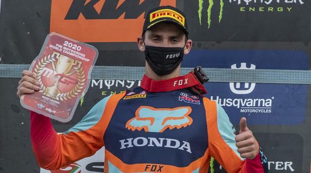 MXGP: Gajser z dvojno zmago še korak bližje naslovu (foto: Honda (Bavo Swijgers))